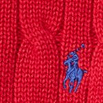 Little Boys Sweaters: Carriage Red Ralph Lauren Childrenswear Cable-Knit Cotton Sweater Boys 4-7