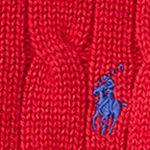 Ralph Lauren Boys: Carriage Red Ralph Lauren Childrenswear Cable-Knit Cotton Sweater Boys 4-7