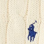 Little Boys Sweaters: Hanover Cream Ralph Lauren Childrenswear Cable-Knit Cotton Sweater Boys 4-7