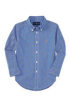 Polo Ralph Lauren Poplin Shirt Boys 4-7