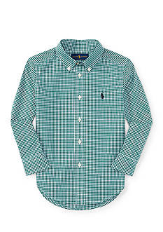 Polo Ralph Lauren Poplin Shirt Boys 4-7