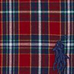 Ralph Lauren Boys: Red Ralph Lauren Childrenswear Poplin Plaid Shirt Boys 4-7
