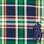 Ralph Lauren Boys: Blue Ralph Lauren Childrenswear Poplin Plaid Shirt Boys 4-7