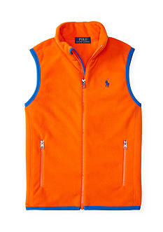 Ralph Lauren Childrenswear Fleece Vest Boys 4-7