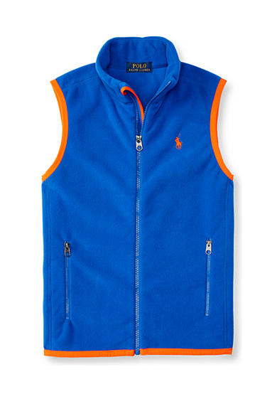 Ralph Lauren Childrenswear Micro Fleece Vest Boys 4-7