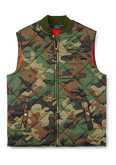 Ralph Lauren Childrenswear Quilted Vest Boys 4-7