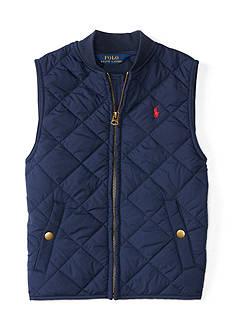 Ralph Lauren Childrenswear Quilted Vest Boys 4-7