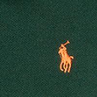 Ralph Lauren Boys: Forest Green Ralph Lauren Childrenswear Cotton Mesh Long Sleeve Polo Boys 4-7