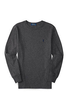 Ralph Lauren Childrenswear Cotton Long Sleeve Tee Boys 4-7