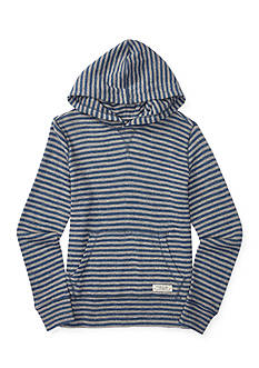 Ralph Lauren Childrenswear Striped Hoodie Boys 4-7