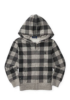 Ralph Lauren Childrenswear Checkered Hoodie Boys 4-7