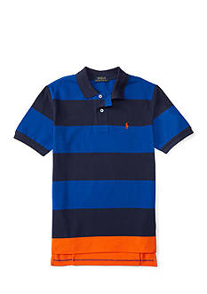 Polo Ralph Lauren Mesh Stripe Polo Top Boys 4-7