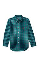 Ralph Lauren Childrenswear Plaid Cotton Poplin