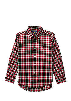 Ralph Lauren Childrenswear Twill Button Down Shirt Boys 4-7