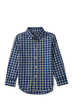 Ralph Lauren Childrenswear Cotton Twill Shirt Boys 4-7