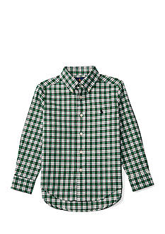 Ralph Lauren Childrenswear Cotton Twill Shirt Boys 4-7