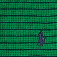 Little Boys T-shirts: Parrot Green Multi Ralph Lauren Childrenswear Waffle-Knit Cotton Henley Boys 4-7