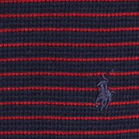 Little Boys T-shirts: French Navy Multi Ralph Lauren Childrenswear Waffle-Knit Cotton Henley Boys 4-7