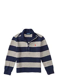 Ralph Lauren Childrenswear French Rib Stripe Pullover Boys 4-7