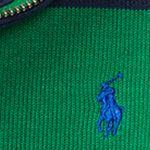 Little Boys Sweaters: Parrot Green Multi Ralph Lauren Childrenswear French Rib Stripe Pullover Boys 4-7