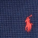 Little Boys Sweaters: French Navy Ralph Lauren Childrenswear Waffle Long-Sleeve Half Zip Boys 4-7
