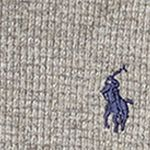 Little Boys Sweaters: Battalion Heather Ralph Lauren Childrenswear Waffle Long-Sleeve Half Zip Boys 4-7