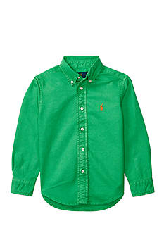 Ralph Lauren Childrenswear Solid Oxford Shirt Boys 4-7