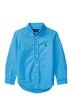 Polo Ralph Lauren Garment-Dyed Cotton Shirt Boys 4-7