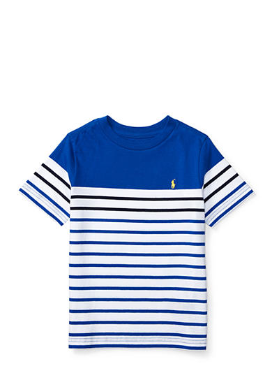 Ralph Lauren Childrenswear Striped Cotton Jersey Tee Boys 4-7