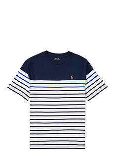 Ralph Lauren Childrenswear Striped Cotton Jersey Tee Boys 4-7