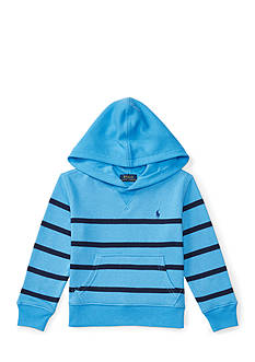 Ralph Lauren Childrenswear Striped Cotton Terry Hoodie Boys 4-7