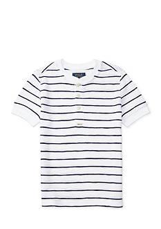 Ralph Lauren Childrenswear Short-Sleeve Waffle Henley Boys 4-7