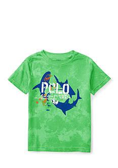 Ralph Lauren Childrenswear Cotton Jersey Graphic Tee Boys 4-7
