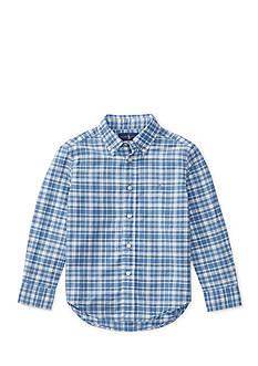 Ralph Lauren Childrenswear Madras Shirt Boys 4-7