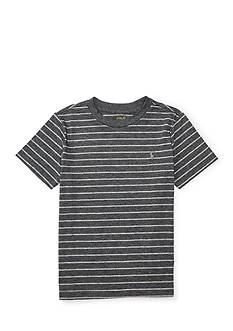 Ralph Lauren Childrenswear Striped Jersey Crew Neck Tee Boys 4-7