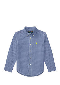 Ralph Lauren Childrenswear Cotton Poplin Shirt Boys 4-7