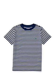 Ralph Lauren Childrenswear Jersey Crew Neck Tee Boys 4-7