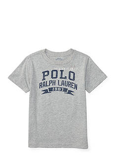 Ralph Lauren Childrenswear Jersey Graphic Tee Boys 4-7