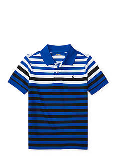Ralph Lauren Childrenswear Multi Color Stripe Polo Shirt Boys 4-7