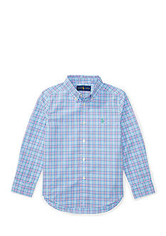 Ralph Lauren Childrenswear Collared Button Down Long Sleeve Shirt Boys 4-7