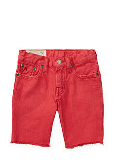 Ralph Lauren Childrenswear Cutoff Denim Short Boys 4-7