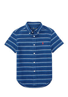 Ralph Lauren Childrenswear Striped Cotton Shirt Boys 4-7