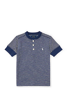 Ralph Lauren Childrenswear Multi-Striped Cotton Henley Boys 4-7