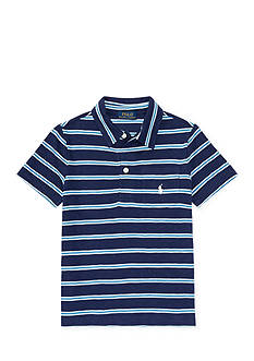 Ralph Lauren Childrenswear Slub Cotton Jersey Polo Shirt Boys 4-7