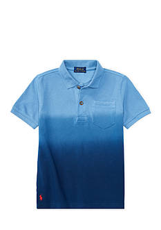 Ralph Lauren Childrenswear Dip-Dyed Mesh Polo Shirt Boys 4-7
