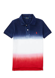 Ralph Lauren Childrenswear Dip-Dyed Cotton Mesh Polo Boys 4-7