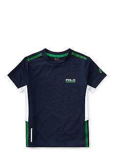 Ralph Lauren Childrenswear Performance Graphic Tee Boys 4-7