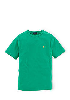 Ralph Lauren Childrenswear Essential Crew Neckline Tee Shirt Boys 8-20