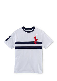 Ralph Lauren Childrenswear Short Sleeve Novelty Tee Shirt Boys 8-20