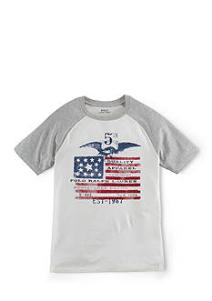 Ralph Lauren Childrenswear Short Sleeve Baseball Tee Boys 8-20